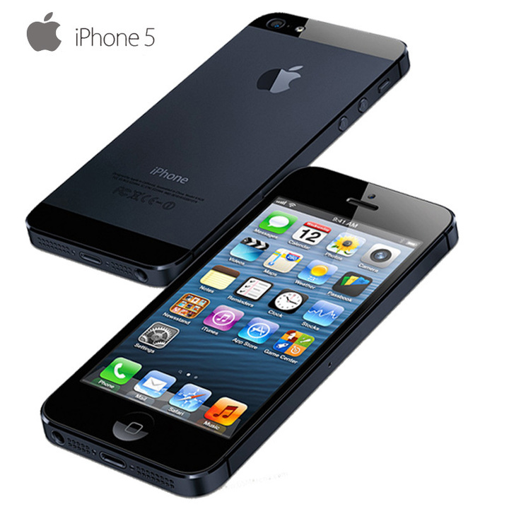 Smartphones Refurbished Apple Phones iPhones iphone5 16GB iphone 5 Cell Phone Ram Back Cover Gift black 16g