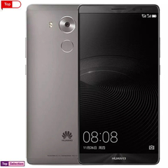 Smartphone Huawei Mate 8 Cellphone Refurbished Phones Game Sport Phone Ram Charger Cover Gift gray 32g