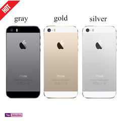 Smart Apple Phone iphone 5s Cell Phones 4G Refurbished iphones Ram Charger Cover Gift gold 16g wiht fingerprint
