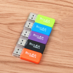 1 pcs 86 ksh High Speed Mini USB 2.0 Card Reader for Micro SD Card TF Readers For Tablet PC random reader *2 smart high speed