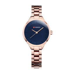 Watches For Female Women Ladies Digital Gift Quartz Automatic Alloy Steel Wrist Business Work Watch rose shell white face onesize