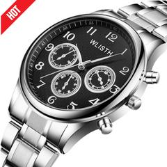 Watches For Male Female Men Mens Digital Gift Quartz Automatic Alloy Steel Waterproof Wrist Watch black onesize