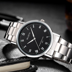 Watches For Male Men Mens Gift Quartz Automatic Waterproof Alloy Steel  Wrist Watch black onesize