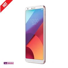 Smartphone LG G6 ROM 64GB Ram 4GB Cellphone Phones Phone Single Sim 13MP Protector Back Cover Gift white 64g