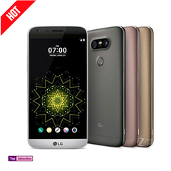 Smartphone Phone LG G5 ROM 32GB Ram 4GB Cell Phones 4G Ram Single Sim 16MP Protector Cover Gift silver  32g