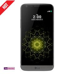 Smartphone Phone LG G5 ROM 32GB Ram 4GB Cell Phones 4G Ram Single Sim 16MP Protector Cover Gift black 32g