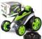 Wireless remote control 360 degree rotary toy car Boy toy car blue 19*12*13cm
