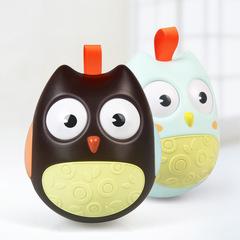 Generic Fashion Baby Owl Roly-poly Toy Developmental Toys Child Kids Educational Toy Gift Black 9*10*11cm