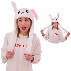 Sweet Cute Women Girls Kids Fashion Moving Hat Rabbit Ears Thanksgiving Christmas Gift