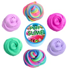 PUFF SLIME plasticine DIY puff glue children's puzzle decompression toys orange 4.5cm*7cm