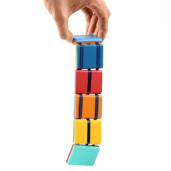 Colorful Wooden Jacob's Ladder Classic Toy for Kids colorful 5cm×5cm×7cm
