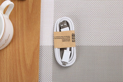 PatrickBoutique 1psc charger cable micro USB Data cable for Samsung XiaoMi HuaWei Techno White about 1m