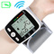 Wrist Digital Blood Pressure Monitor Automatic Sphygmomanometer Smart Medical Measure Pulse Rate white normal