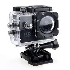 Full HD Digital Sport Camera 2 Inch Screen Under Waterproof 30M DV Recording Mini Bicycle Video Cam Black One size