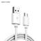 Micro USB Cable 2A Fast Charge USB Data Cable for Samsung Xiaomi Tablet Android USB Charging Cord White 100cm