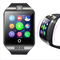 Bluetooth Smart Watch Q18 With Camera Facebook Sync SMS Smartwatch Support SIM TF Card IOS Android Black one size
