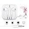 Android And Apple Universal Headset In-ear Sound Quality Remote Control And Microphone Headphone white
