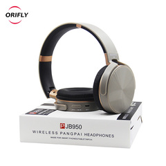 Bluetooth Headphone 4.1 Headset TF Card FM HIFI Hands-Free w/Mic for Smart phone PC Laptop Earphone Gray