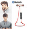Fashion M9 Sport Running Bluetooth Headset Earphone Waterproof Bluetooth Wireless In Ear Earphones red