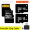 Memory Card Micro SD 8G 16G 32G SDXC SDHC USB Micro SD Card 32GB 16GB 8GB TF Card silver one size 8g
