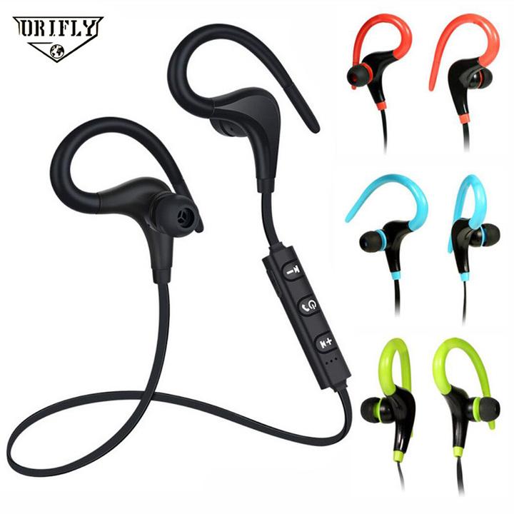 Bluetooth Earphone Wireless Sports Neckband Headset Auricular Stereo Headphones Compatible black