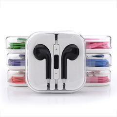 Android And Apple Universal Headset In-ear Sound Quality Remote Control And Microphone Headphone black