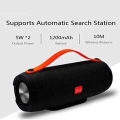 Portable wireless Bluetooth Speaker Stereo big power 10W system TF FM Radio Music Subwoofer Speakers black 10W E13