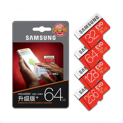 Samsung MemoryCard 128GB 64GB 32GB Class10 U3 U1 SDXC Grade EVO+ Micro SD Card  TF Flash Card red Samsung 32gb 95mb/s