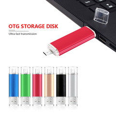 Usb OTG 32GB Pen Drive USB Flash Drive External Storage Memoria Usb 2.0 Micro USB Stick Pendrive silver high speed 32gb