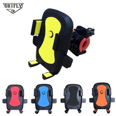 Bike Motorcycle Phone Holder 360 Rotatable Handlebar Rearview Mirror Mobile Cell Phone Stand Holder