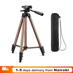 Camera Tripod Stand Holder For DSLR Cameras Camcorders Brown one sieze