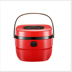 Bright red 5 l home smart timing rice cooker 3-4 people is muti_function large capacity white
