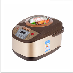 Household intelligent rice cooker 5 l multi-function cooking porridge and tommy rice rice cooker randomly