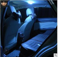 Take front row reading lamp LED light suction a top inside the car