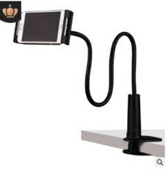 The stand can be mounted on a desk or bed 70 cm white Mobile phone tablet general