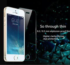 0.26 mm thin scratch resistant iphone, the iphone 5, iphone6 applicable transparent iphone5