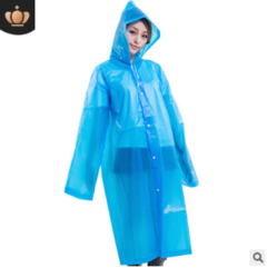 Travel outdoor fashion adults more than one-off Eva raincoat Mixed color