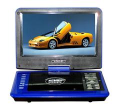 9.8 'PDVD blue portable disk drive portable mobile EVD player