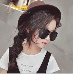 Children fashion sunglasses private sunglasses black as shown in figure