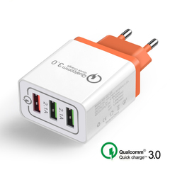 Universal Quick charge for Iphone  Mobile Phone Fast charger charging for Samsug s8 s9 Huawei random EU