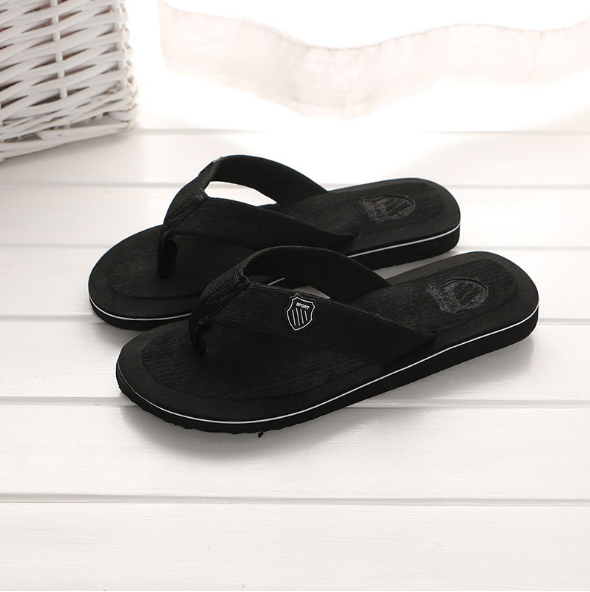 d4bfde9f11cf slippers Men s flip-flops wholesale beach shoes black 43   Kilimall ...