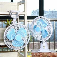 Mini electric fan home desktop small desktop dormitory shaking dormitory clip fan fan manufacturer As shown in figure