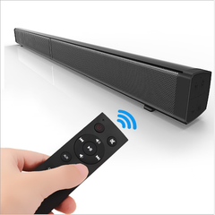 Bluetooth speaker home theater sound the LP - 09 card on the acoustics wireless echo wall black as shown in figure American Specifications