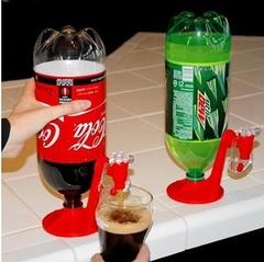 Drinker Mini Switch Drinker Coke Inverter red as shown in figure