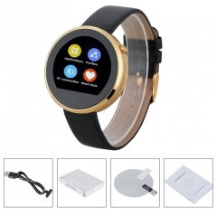 ( Buy 1 Get 1 Gift) Bluetooth Smart Watch for Android and IOS Gold