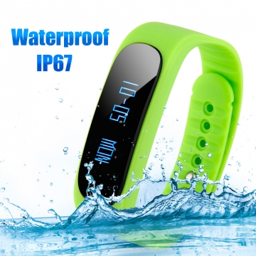 DIGGRO BRAND Smart Bracelet Bluetooth Waterproof for Android and IOS Green