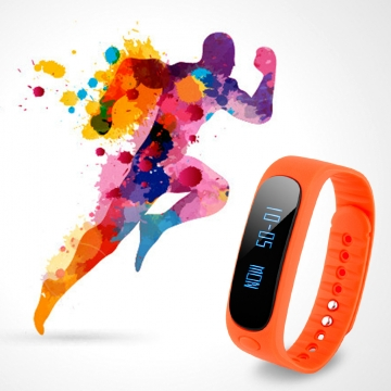 DIGGRO BRAND Smart Bracelet Bluetooth Waterproof for Android and IOS Orange