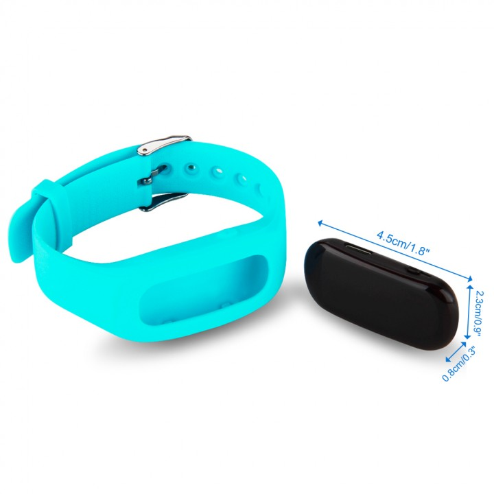 Bracelet Bluetooth V4.0 Wristband for Android and IOS Blue