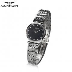 GUANQIN Quartz Women Full Stainless Steel Wristwatch Gift for Girlfriend Mother Friends 6