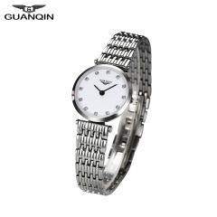 GUANQIN Quartz Women Full Stainless Steel Wristwatch Gift for Girlfriend Mother Friends 2